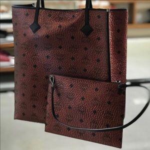 ❤️New MCM Kira North South Shopper Tote Bag
